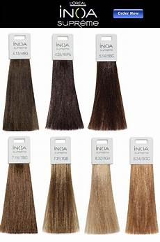 inoa supreme l oreal inoa supreme hair color chart