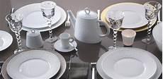 Service De Table Blanc Design En Image