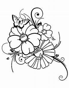 Malvorlage Schmetterling Mit Blume Ausmalbilder Schmetterling Mit Blume Ausmalbilder