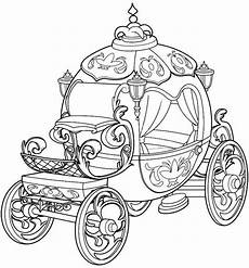 cinderella carriage coloring page at getdrawings free