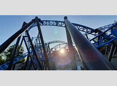 dueling dragons coaster