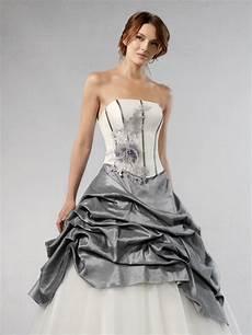 robe de mariée grise et robe de mariee grise