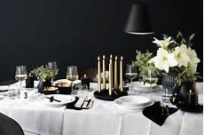 tisch decken weihnachten starke kontraste schwarz und wei 223 gesellen sich gern