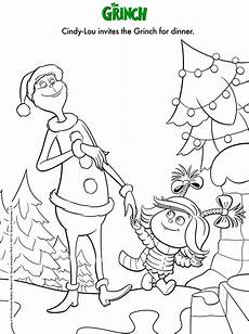 dr seuss the grinch coloring page with images