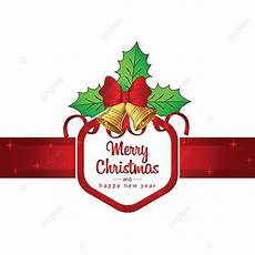 merry christmas with ribbons christmas ribbon png and vector with transparent