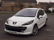 Limited Edition White 2007 Peugeot 207 1 6hdi Sport Mot