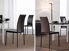 sedie sala da pranzo moderne sedia per interni rivestimento in pelle idfdesign