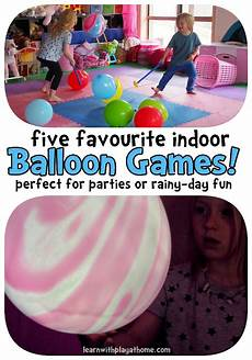 Learn With Play At Home 5 Indoor Balloon
