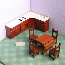 pretend kitchen furniture 1 12 dollhouse furniture toys for dolls miniature wooden