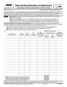 irs form 8949 for 2014 form 8949 fillable sales and other dispositions of capital assets