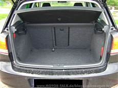 Golf 5 Kofferraum Maße Probefahrt Golf 6 1 2 Tsi 105 Ps Comfortline