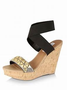 buy steve madden elastic ankle wedges for