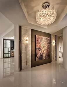 Home Entrance Wall Decor Ideas by Entrance Design Entry Contemporary With Wall Sconces