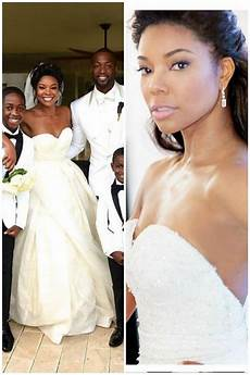 Story Gabrielle Union Wedding Dress Pictures