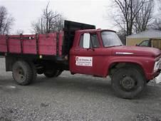 1961 Ford F600 Dump Truck