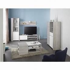 ensemble meuble salon pas cher tessa ensemble salon 5 pi 232 ces contemporain d 233 cor gris