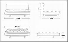 misure cuscini letto divano letto 187x112x40 bianco o nero in ecopelle