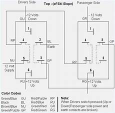 5 Pin Power Window Switch Wiring Diagram Wallmural Co