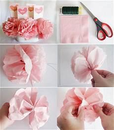blumen aus servietten basteln napkin flowers 183 craft finds 183 cut out keep craft