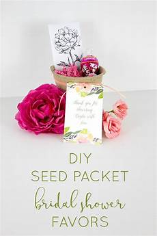 seed packet bridal shower favors the inspired hive
