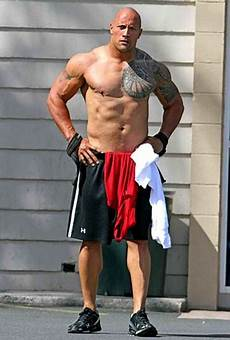 Dwayne Quot The Rock Quot Johnson Measurements Height Weight