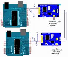 arduino mcp2515 can interface tutorial can protocol