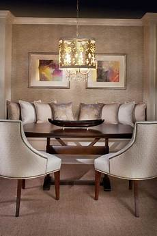 cozy dining room love everything beautiful furnishings lighting and banquette dining room