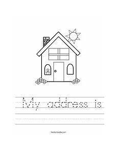 21 best learning address and phone number images pinterest preschool ideas preschool