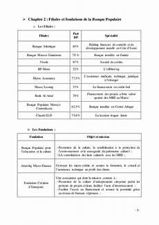 Rapport De Stage Banque Populaire Audit De Conformit 233