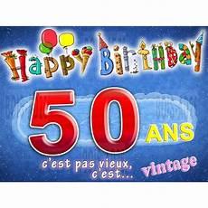 Carte Anniversaire 50 Ans Humour Achat Vente Faire
