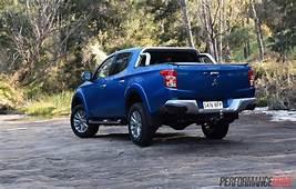 2016 Mitsubishi Triton GLS Back