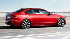 the 2020 jaguar xe gets facelifted inside and out for