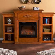 Fireplace Bookshelves Design
