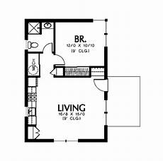 house plans under 600 sq ft modern style house plan 1 beds 1 baths 600 sq ft plan