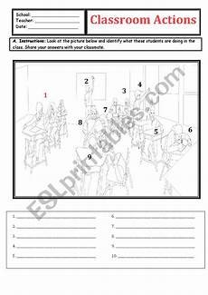 commands worksheet with answers 18713 identification of classroom commands i drew the pictures with answers esl worksheet by judieguv