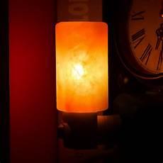 himalayan salt night light natural crystal l air
