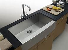 aquarius square undermount apron front farmhouse stainless steel kitchen sink ebay