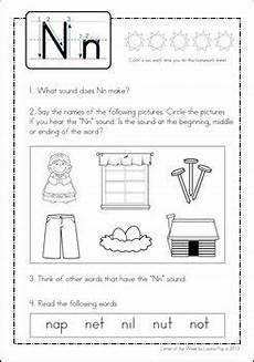 letter n phonics worksheets 24159 phonics letter of the week n phonics letter of the week lettering