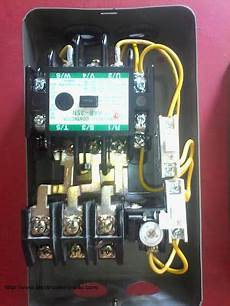 how to wire contactor and overload relay contactor wiring diagram with images diagram