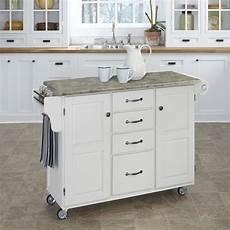 Kitchen Island Cart With Cabinets by Home Styles Create A Cart Kitchen Island With Utility