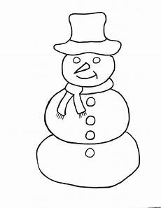 simple snowman coloring pages frosty the snowman