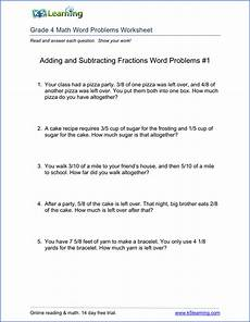 fraction word problems worksheets grade 4 11300 grade 4 word problems worksheet with images word problem worksheets math words subtraction