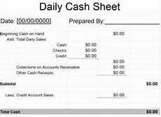 daily cash sheet template daily cash sheet 187 template haven