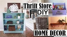 thrift store diy home decor projects farmhouse inspired decor youtube