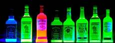 glowing blacklight reactive liquid crafty cool neon bedroom neon room bedroom