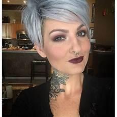 kurze haare grau grau ist 12 sch 246 ne kurzhaarfrisuren in grau die du