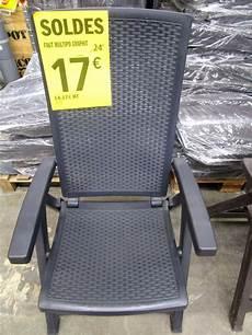 mobilier jardin brico depot chaise de jardin brico depot