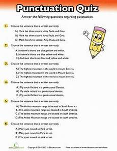 punctuation assessment worksheets 20707 black reading comprehension reading practice comprehension and