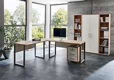 Arbeitszimmer Office Edition In Eiche Sonoma Wei 223 Set 3