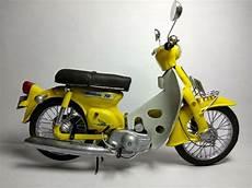 Warna C70 by Jual Miniatur Motor Honda C70 Warna Kuning Asli Handmade